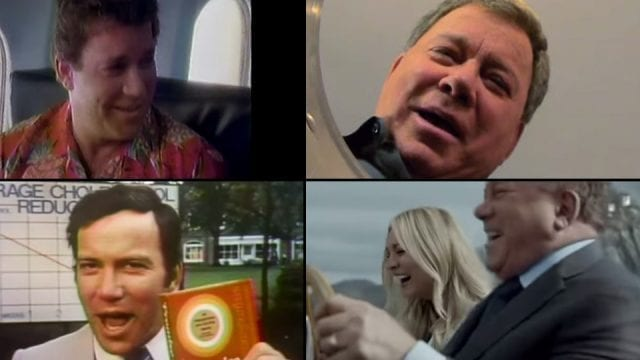 Die besten Werbespots mit William Shatner