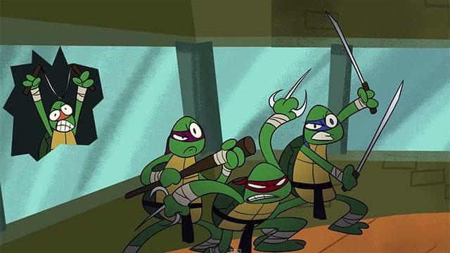 Die Turtles haben einen schlechten Tag