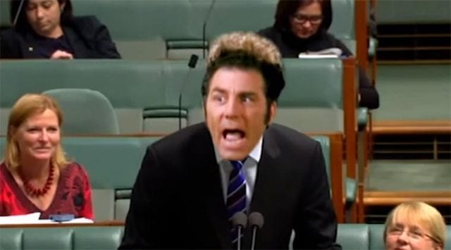 Seinfeld in Parliament