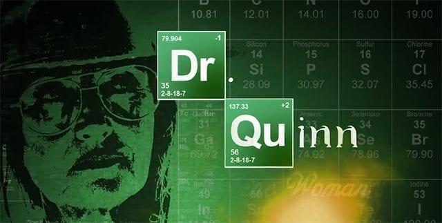Dr. Quinn-Cast wiedervereinigt in Funny or Die-Parodie
