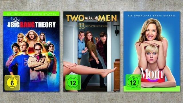 Gewinnt: Sitcom DVD-Boxen