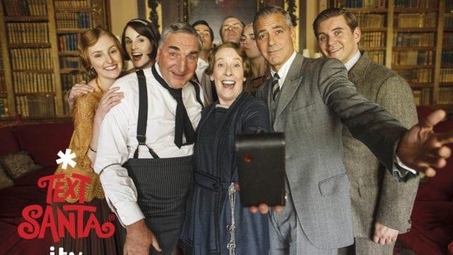 Weihnachtliches Downton Abbey
