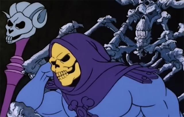 A very Skeletor Christmas