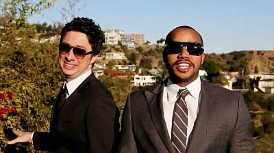 Zach Braff & Donald Faison – Baby It's Cold Outside
