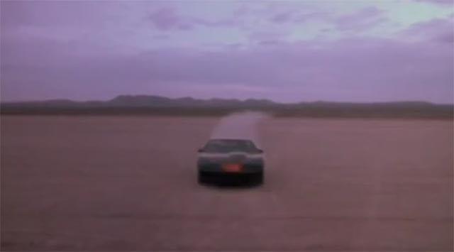 Musikloses Knight Rider-Intro