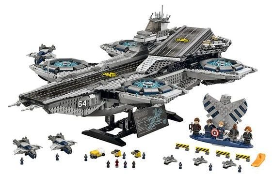 Lego S.H.I.E.L.D Helicarrier