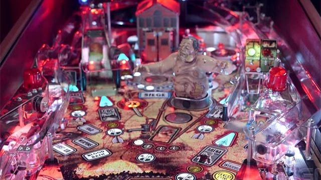 The Walking Dead Pinball Machine