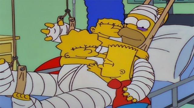 Liegt Homer seit Jahren im Koma?
