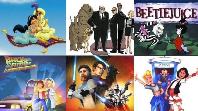 Zeichentrick-Serien zu Filmen