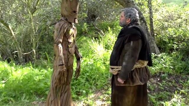 Hodor vs. Groot