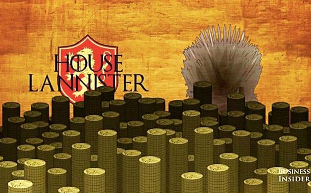 Ist die Familie Lannister pleite?