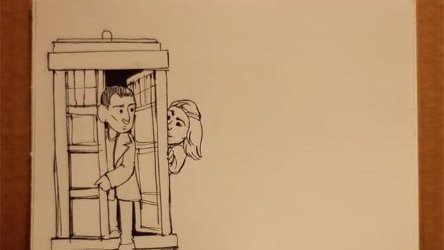 Doctor Who Zeichnungs-Stopmotion