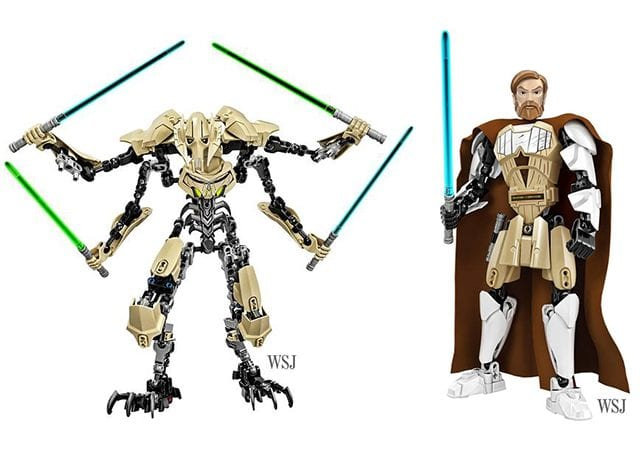 Star Wars Build-It Figuren von Lego
