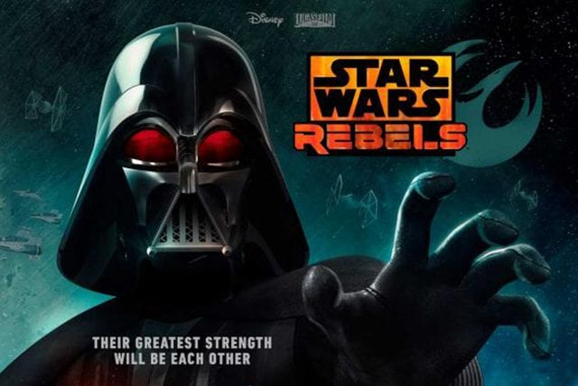 Star Wars Rebels: Trailer mit Darth Vader