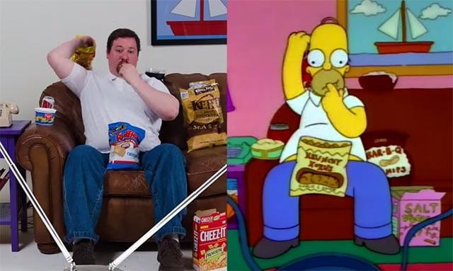 Futtern wie Homer
