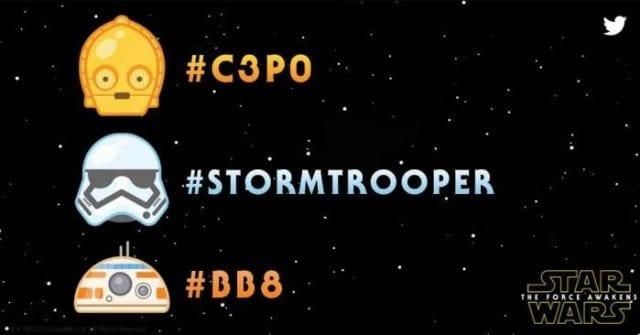 Star Wars Emojis für Twitter