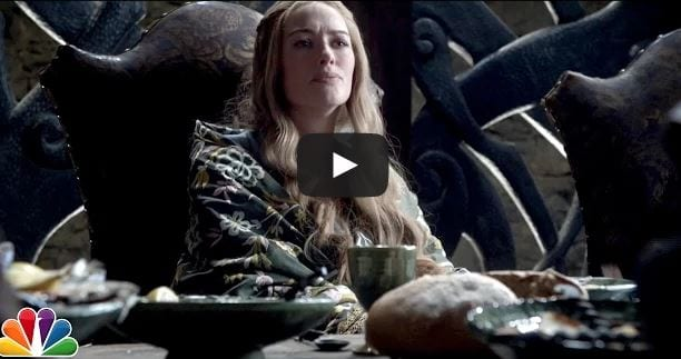 """Game of Thrones Cast sing """"Excited"""""""