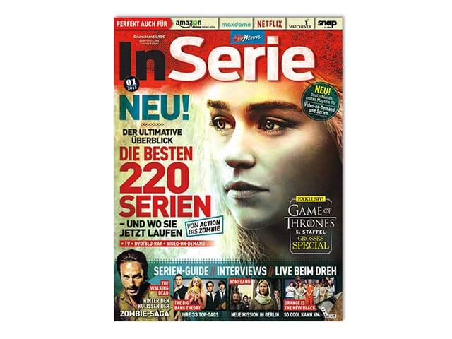 InSerie –Cover der Ausgabe#1