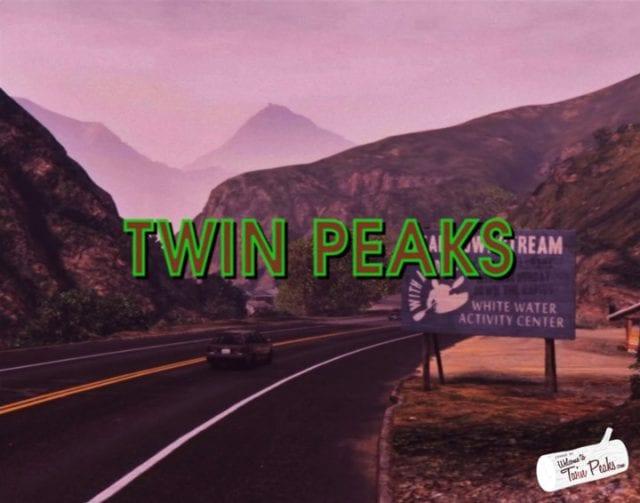 Twin Peaks im GTA V Style