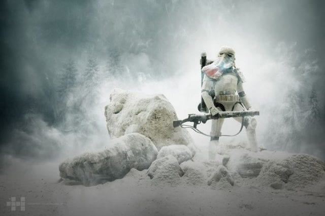 Star Wars: Stormtroopers in Snow