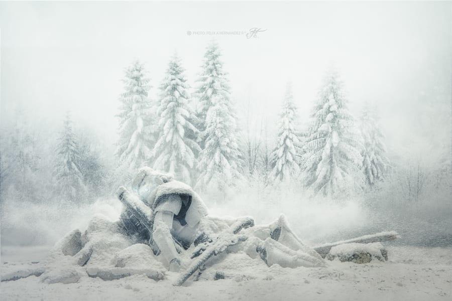 star wars stormtroopers in snow wenn fotografen spielzeug in die h nde bekommen seriesly. Black Bedroom Furniture Sets. Home Design Ideas