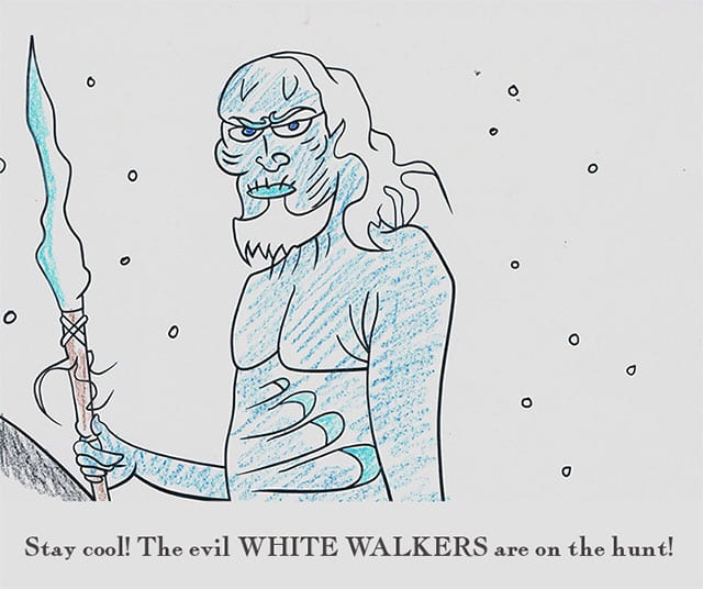 Game of Thrones-Malbuch - All Men Must Draw - seriesly AWESOME