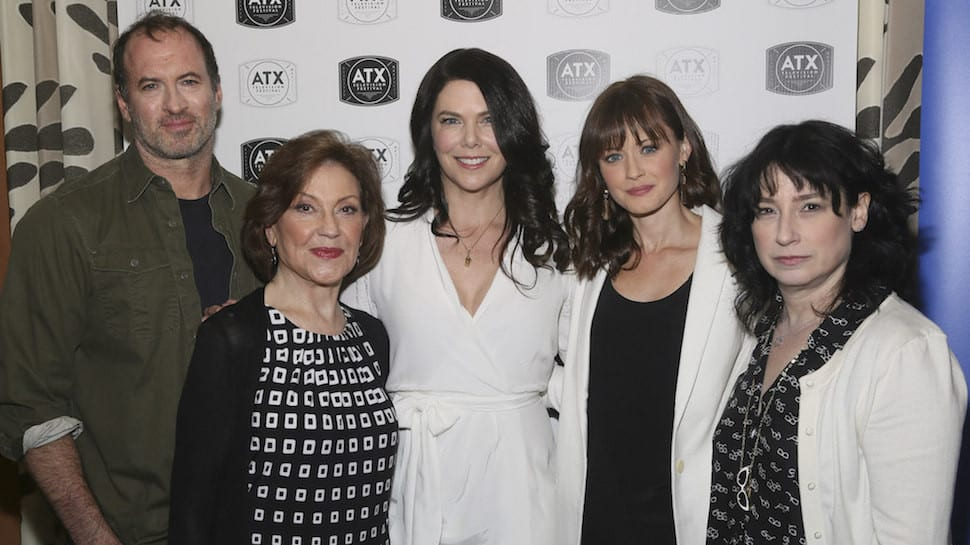 """Gilmore Girls"" reunion during the ATX Television Festival in Austin, Texas on Saturday, June 6, 2015.. (Photo by Jack Plunkett)"