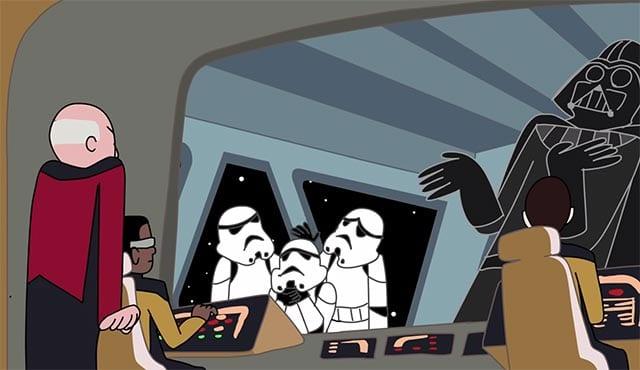 Was ist nerdiger – Star Trek oder Star Wars?