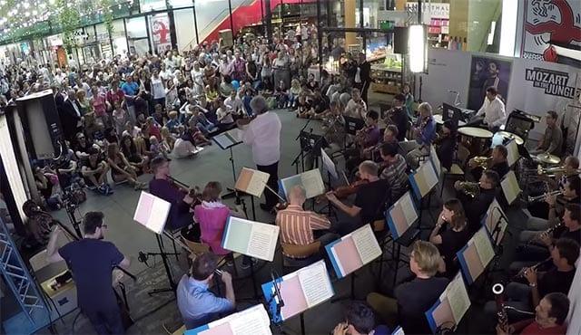 Überraschungs-Konzert für Mozart-Fans