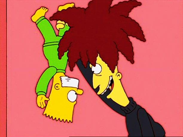 Sideshow Bob tötet Bart Simpson