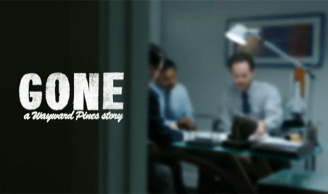 Wayward Pines: Webserie GONE läuft parallel