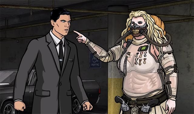 Archer hasst die Comic-Con