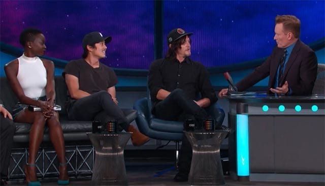 The Walking Dead-Cast zu Gast bei Conan