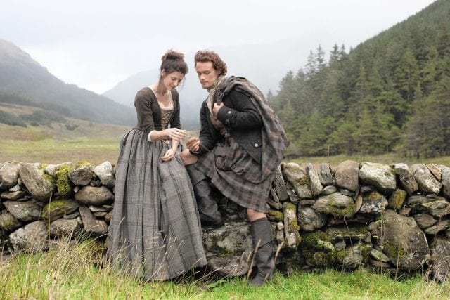 "Starz series ""Outlander"""