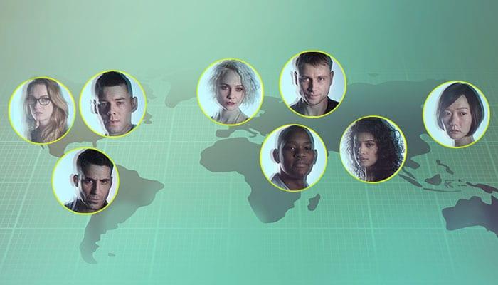 Sense8: Global Hangout mit dem Hauptcast