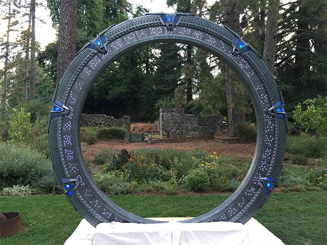 Ja-Wort vor dem Stargate