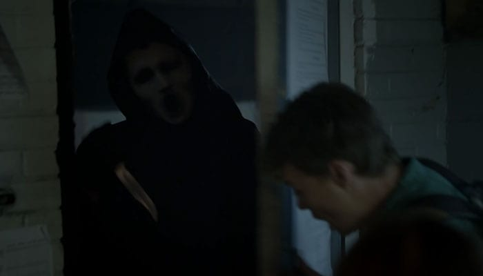 Scream – Ghostface und Noah © MTV