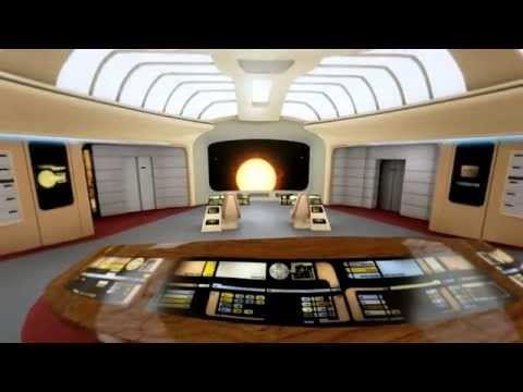 Bald könnt ihr in der Enterprise spazieren gehen