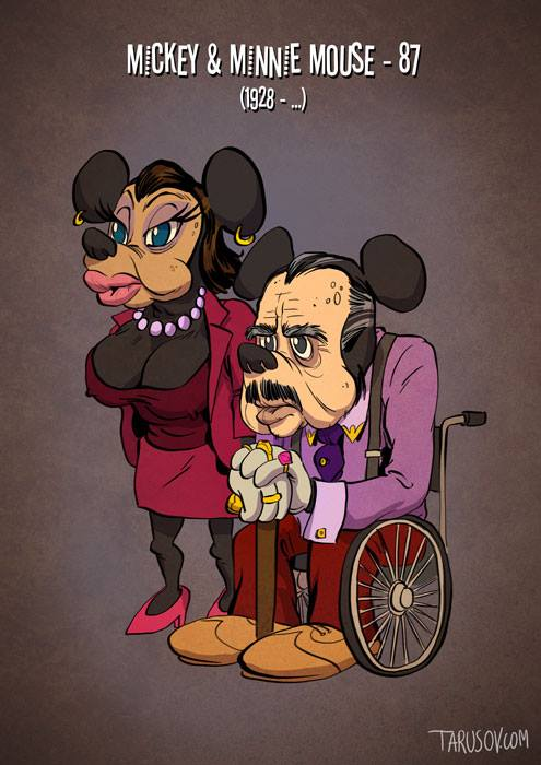 Mickey / Minnie Mouse © Andrew Tarusov