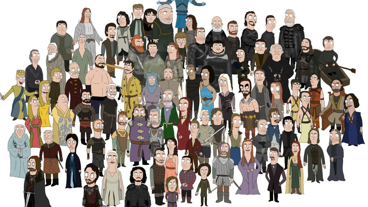 Bob's Burgers meets Game of Thrones