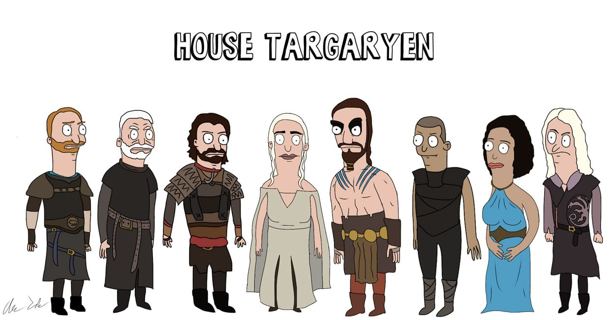 Game_of_Burgers_04 Bob's Burgers meets Game of Thrones