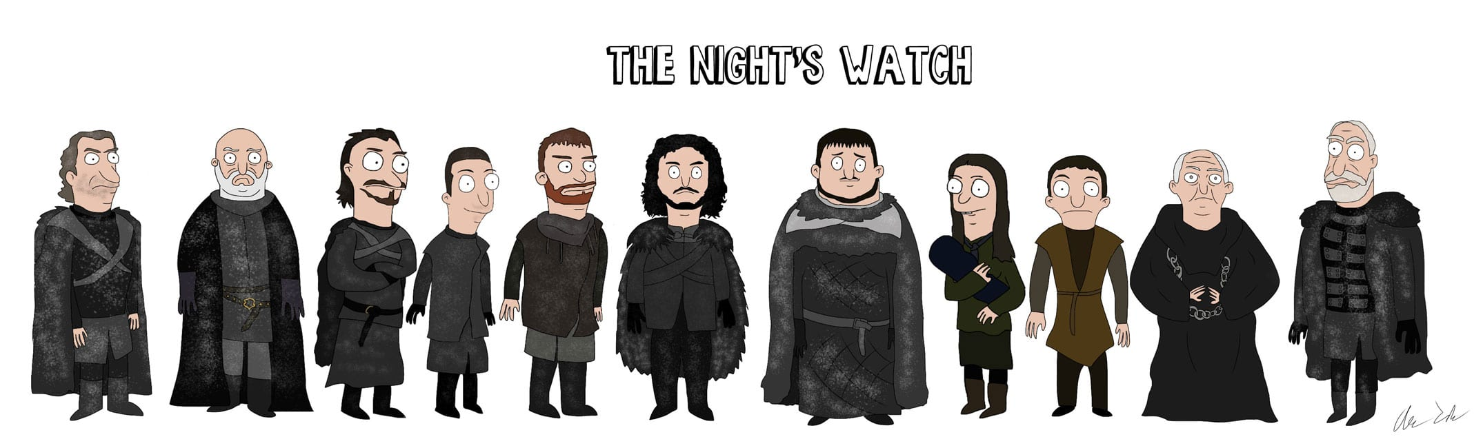 Game_of_Burgers_06 Bob's Burgers meets Game of Thrones