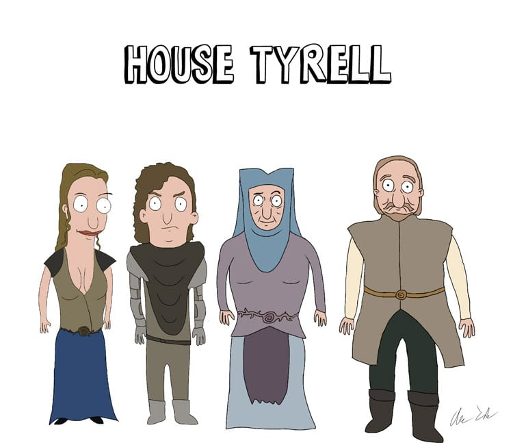 Game_of_Burgers_09 Bob's Burgers meets Game of Thrones