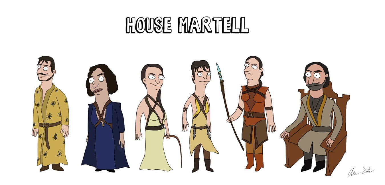 Game_of_Burgers_10 Bob's Burgers meets Game of Thrones