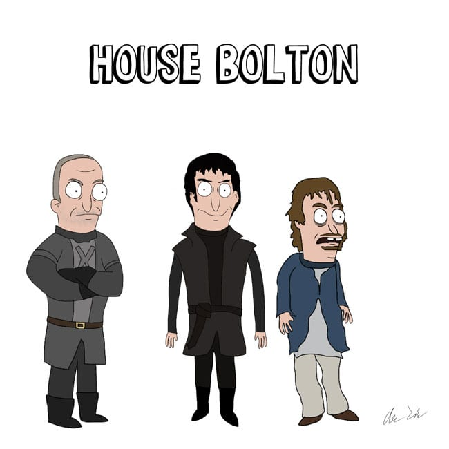 Game_of_Burgers_11 Bob's Burgers meets Game of Thrones