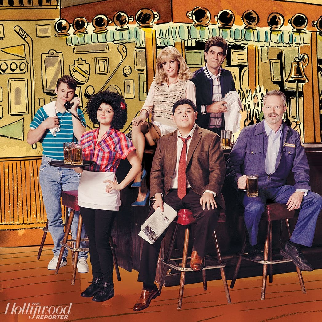 Modern Family Cast – Foto: Ramona Rosales | Illustrationen: Zohar Lazar © The Hollywood Reporter