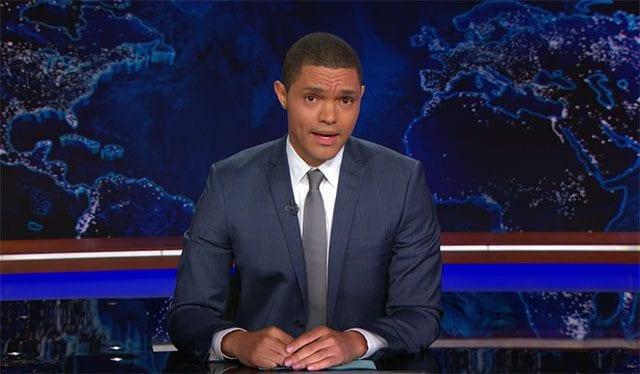Trevor Noahs Antrittsrede bei der Daily Show