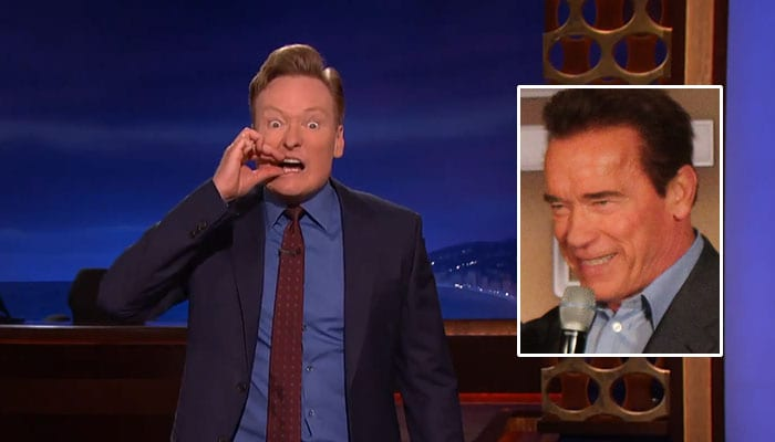 Conan imitiert den Governator