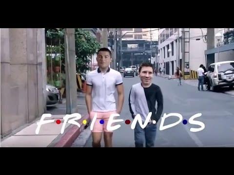 Messi und Ronaldo sind FRIENDS