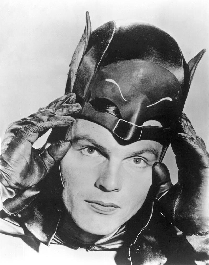 Adam West ist Batman